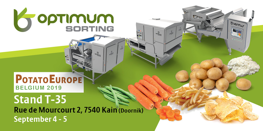 Visit us @ Potato Europe Belgium, Kain (Tournai)